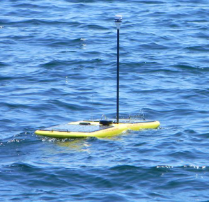 Wave-Powered Glider