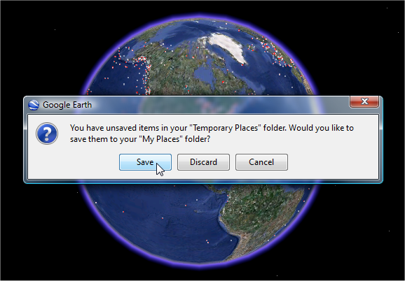 kml application of google earth